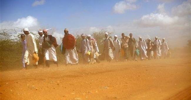 Jill Biden visits East Africa famine refugees