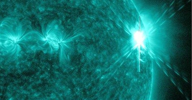 Powerful solar flare has limited impact on Earth