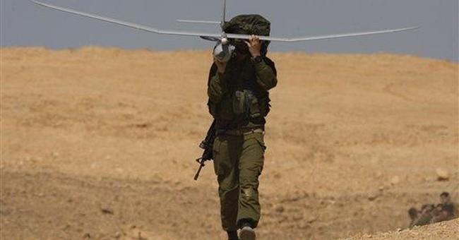 Israel sends drones over Mediterranean gas fields