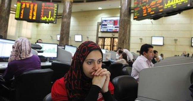 Egypt stocks tumble on global recession fears