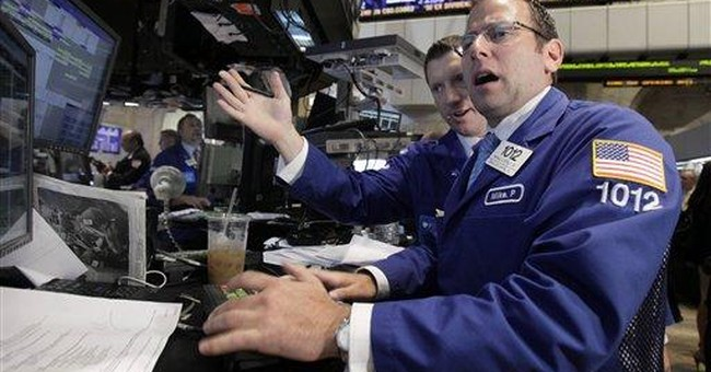 Dow soars 429 points on Fed statement