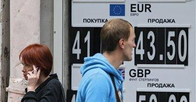 Russian ruble drops to 6-month low