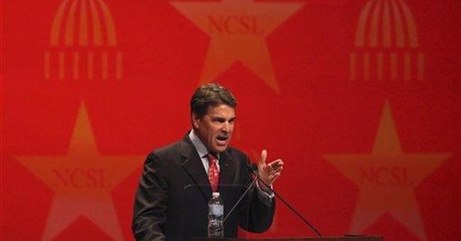 Spokesman: Gov. Rick Perry running for president