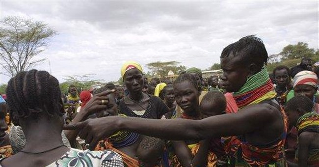 Mothers exchange blows as Kenya drought deepens
