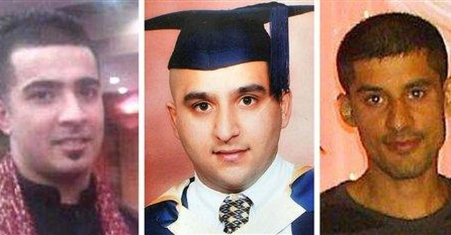 Slaying of 3 Muslims lays bare divisions
