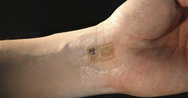 Stick-on patch proposed for patient monitoring