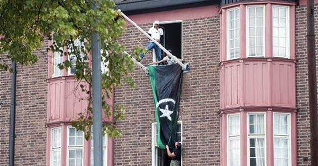 Libyan exiles occupy Libyan Embassy in Stockholm