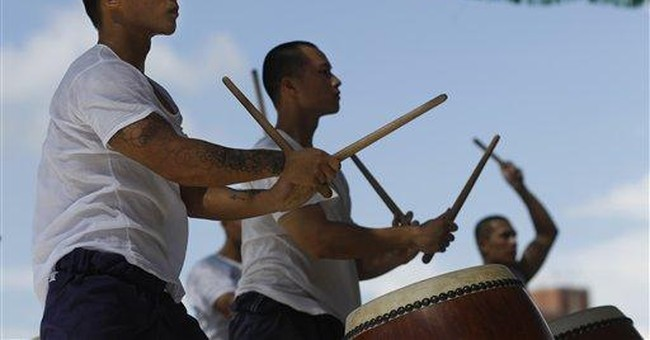 Rehabilitation through Zen drumming inTaiwan