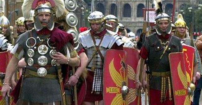 Crackdown on gladiator impersonators in Rome