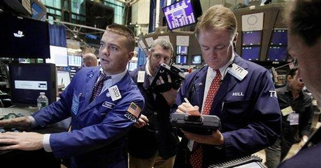 Dow finishes wild week on an up note