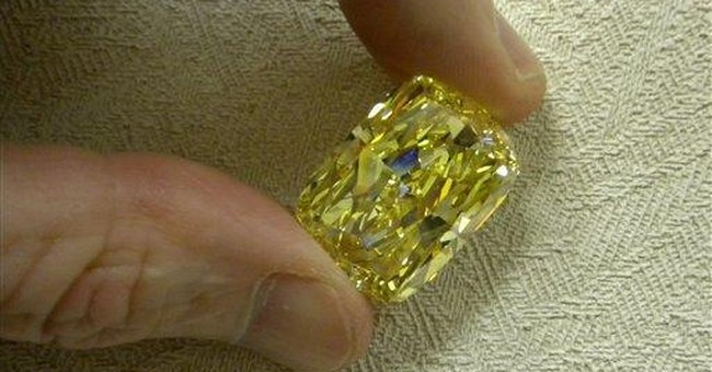 Huge diamond forfeited in Ohio to be auctioned