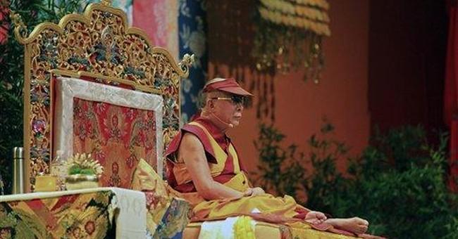 Dalai Lama begins 3-day spiritual visit to France