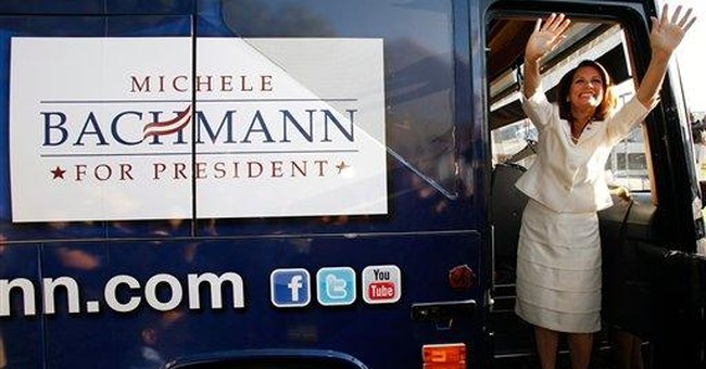Bachmann, Perry flocking to same event in Iowa