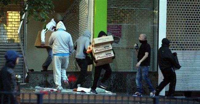 AP ENTERPRISE: UK gangs thrive in August riots