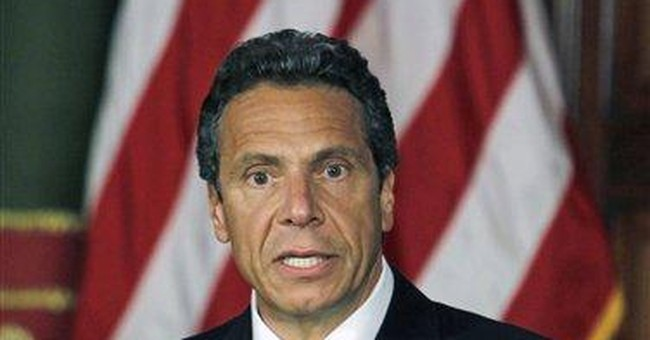 AP Enterprise: NY gov. flew home in state aircraft