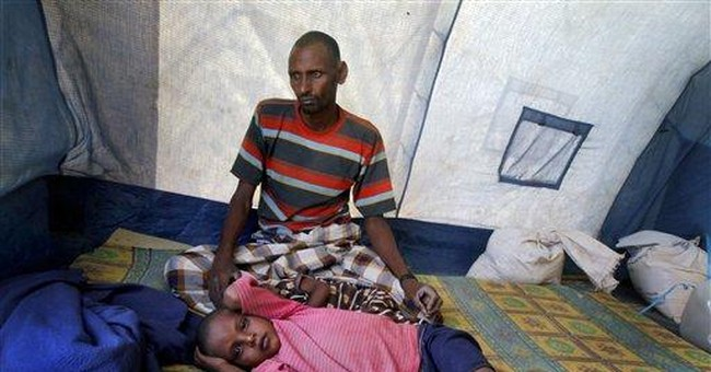 Somali man tries to raise children without mother