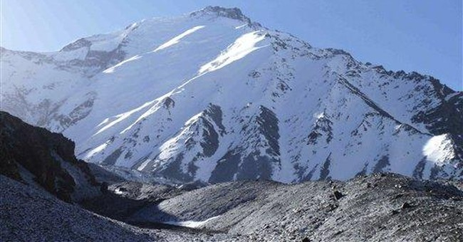 Climbers scale Afghanistan's highest peak