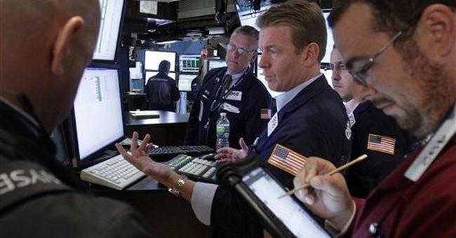 Stocks recover as calm descends, Google's big deal