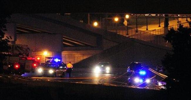 Police: Falling bridge debris snarls Atlanta route