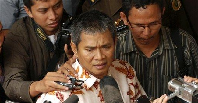 Victim of Indonesian mob attack sent to jail