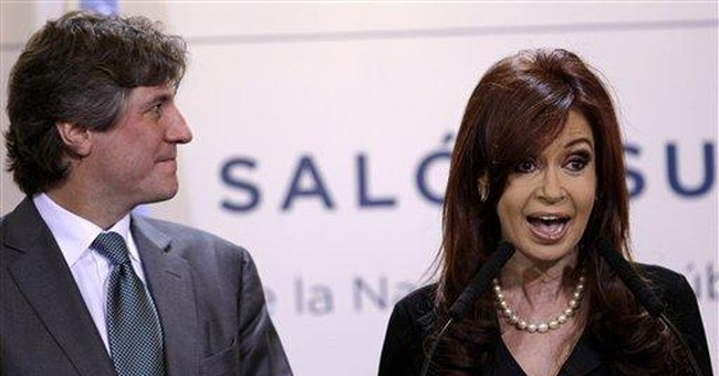 Victorious Argentine president vows steady course