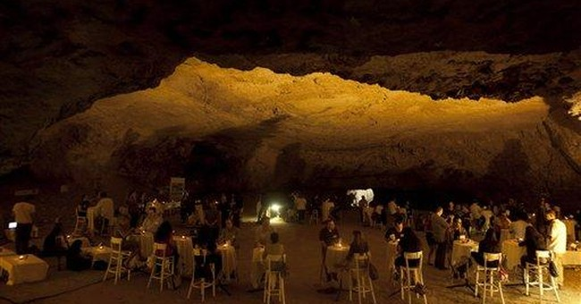 Israeli singles look for new love in ancient cave