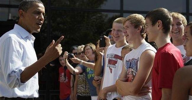 Obama takes tour to Illinois, plans 2 town halls