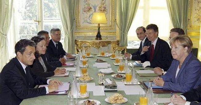 Merkel, Sarkozy propose eurozone government