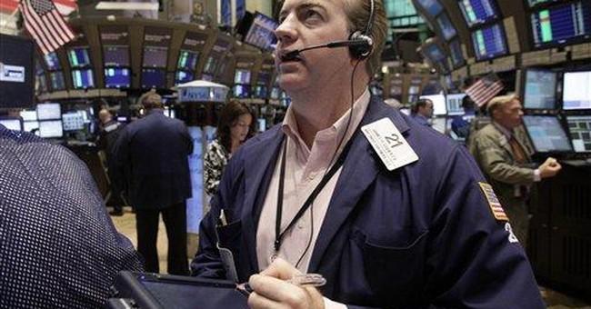 US stocks fall on European economic, debt worries