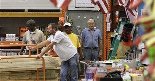 Home Depot 2Q net income rises on storm repairs