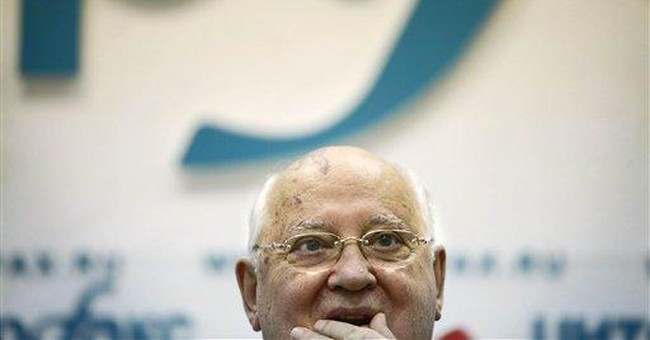 Gorbachev says Russia needs change