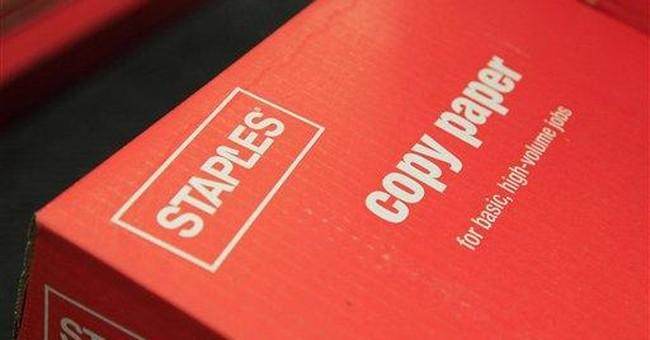 Staples 2nd-quarter net income rises 36 percent