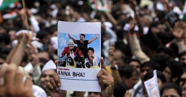 Indian leader lashes out at fasting protest head