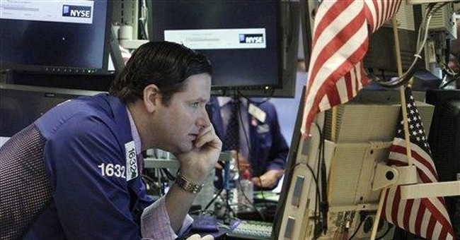 Here we go again: Stocks plunge on economic fear