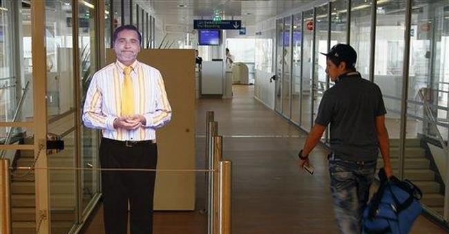 Paris airport tests 'virtual' boarding agents
