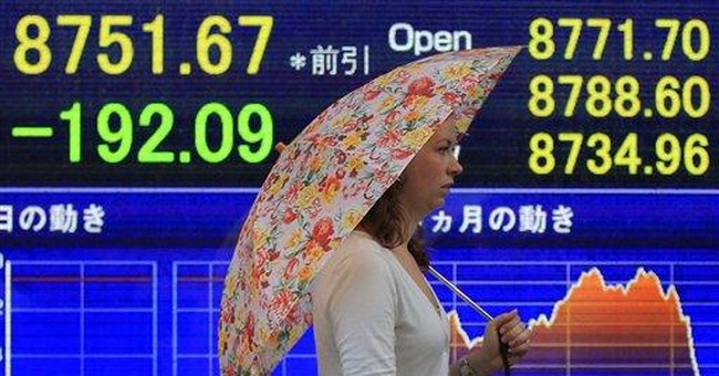 Stocks lower but selling pressure eases
