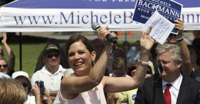 Bachmann: Voters worried about jobs, not gaffes