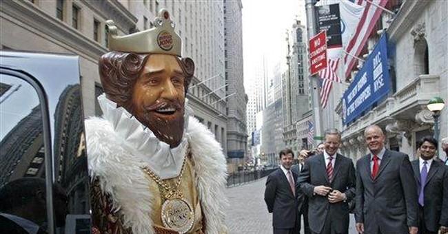 "Burger King retires mascot ""The King"""