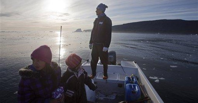 In warmer Greenland, shoot the dogs, drill for oil