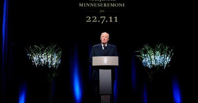 77 killed in Norway massacre remembered at service