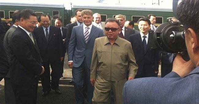 North Korean leader tours Russian power plant