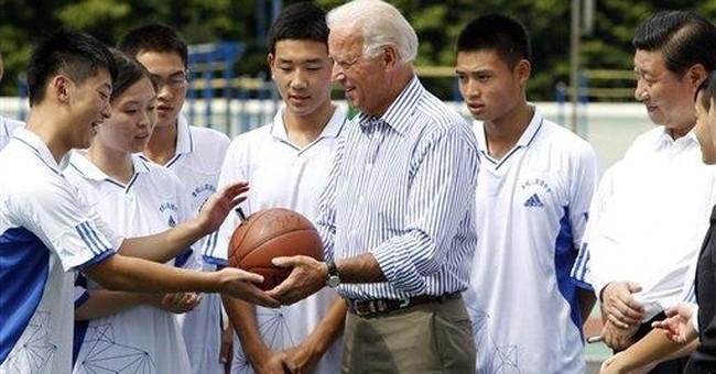 China's US assets 'safe,' Biden tells students