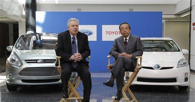 Ford, Toyota to work together on hybrid trucks
