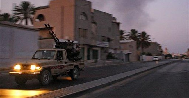 Joy and fear in Libyan capital