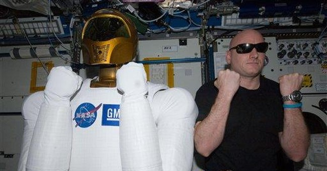 It's alive! Space station's humanoid robot awake
