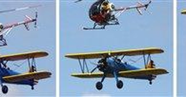 Michigan wing walker was 1 of 2 to do deadly stunt