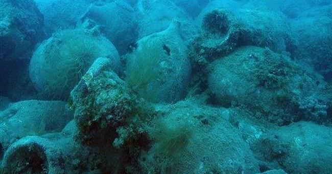Roman wreck full of wine jars found off Albania