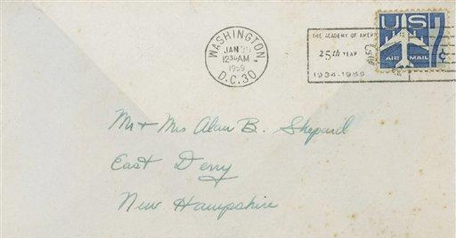 AP Exclusive: Shepard letter being auctioned
