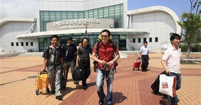 NKorea expels SKoreans from joint mountain resort