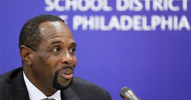 Private funds questioned in Philly supt.'s buyout